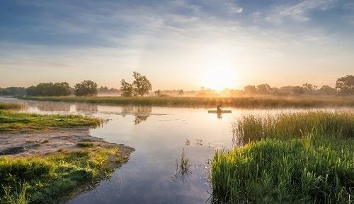 Тихое утро, Юрий Казаков