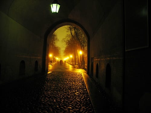 Ночь, улица, фонарь, аптека